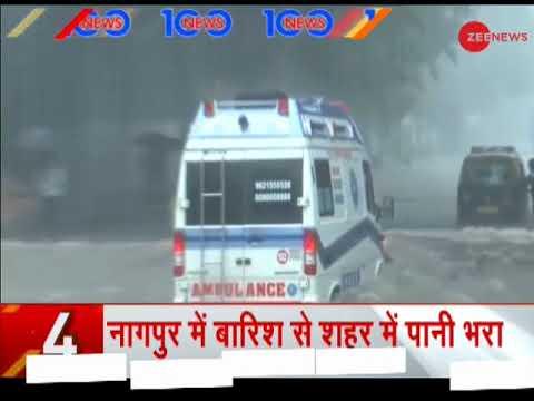 News 100: Several people stranded in Maharashtra's Chinchoti waterfall