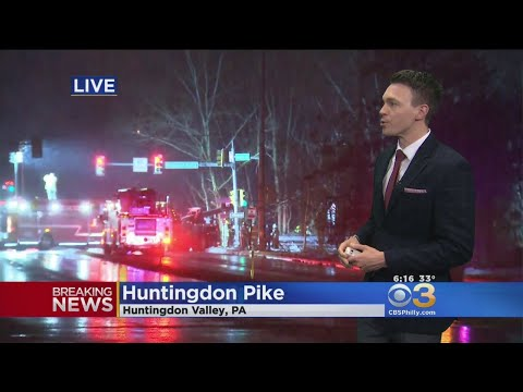Serious Accident Reported On Huntingdon Pike Crash