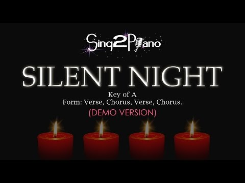 Silent Night (Piano Karaoke demo - A)