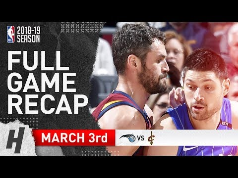 Orlando Magic vs Cleveland Cavaliers - Full Game Highlights | March 3, 2019 | 2018-19 NBA Season