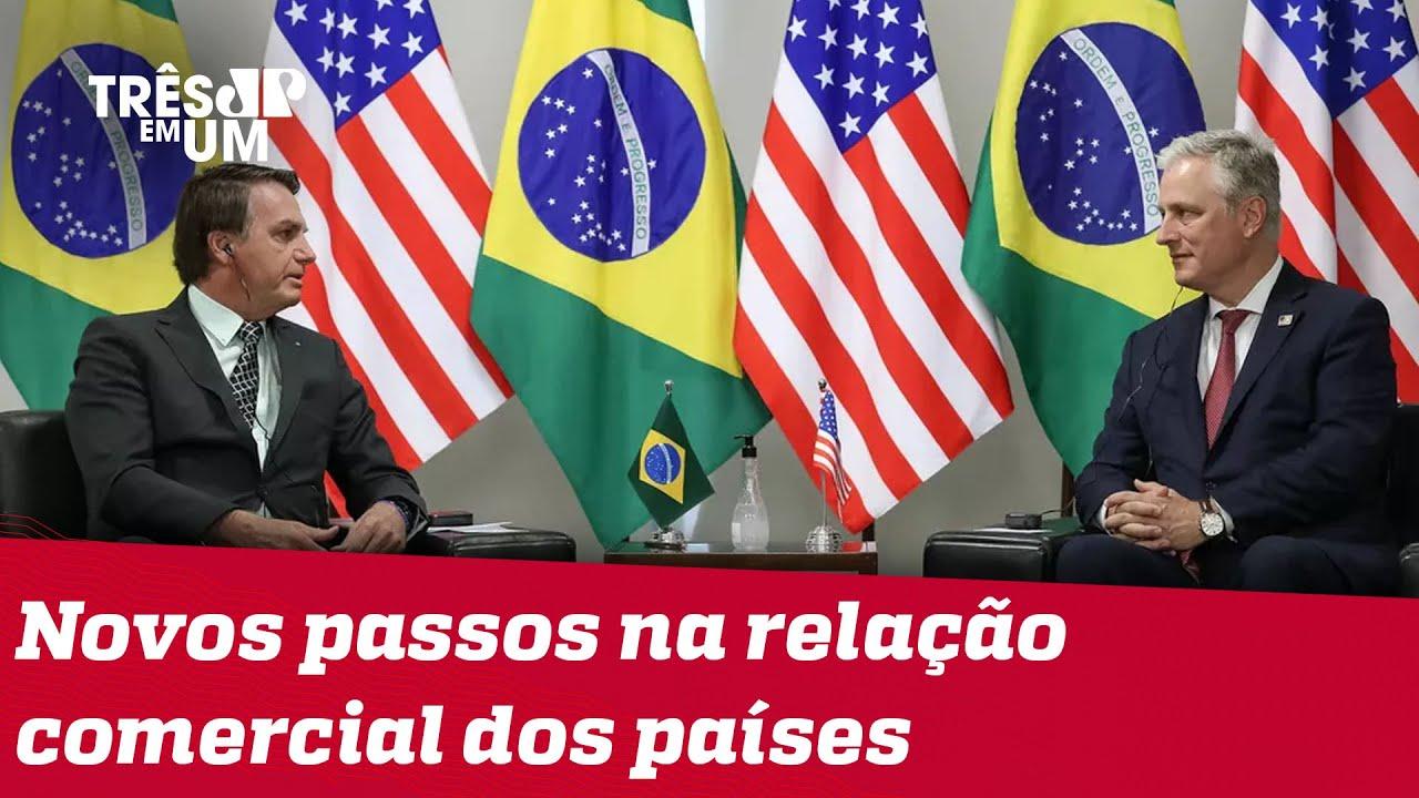 Estados Unidos e Brasil fecham três novos acordos bilaterais