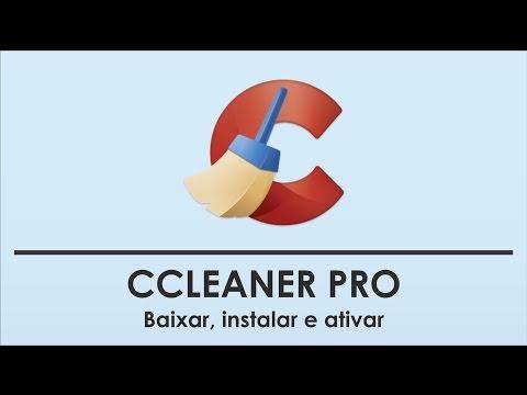 Como Baixar E Instalar O CCleaner PRO V5 13 2016 + Serial ✓
