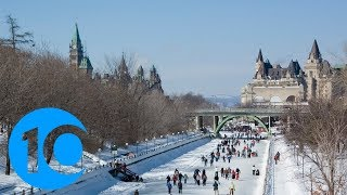 Skate on the world's largest naturally frozen rink