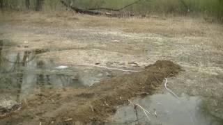 Очистка пруда Второй день работы