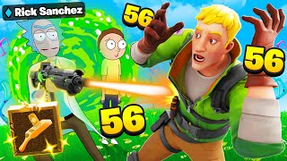 I Pretended To Be Rick And Morty.. (Fortnite Season 7)