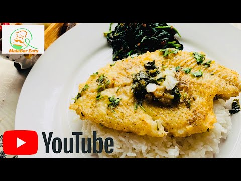 FLOUNDER FISH IN BUTTER AND LEMON SAUCE || FLOUNDER FISH RECIPE || FISH IN BUTTER SAUCE ||TASTY FISH