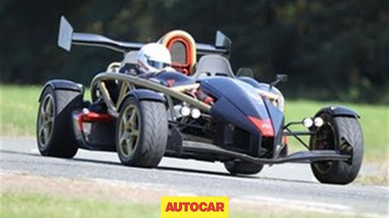 Ariel Atom V8 video review - YouTube