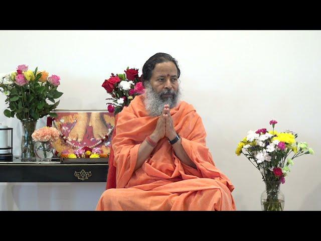Darshan with Paramahamsa Prajnanananda at Temple of Compassion, Texas on October 1st, 2021 Morning