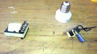 блок питания из энергосберегающей лампы своими руками.