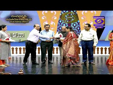 LIVE TELECAST OF DOORDARSHAN KENDRA HYDERABAD FORMATION DAY