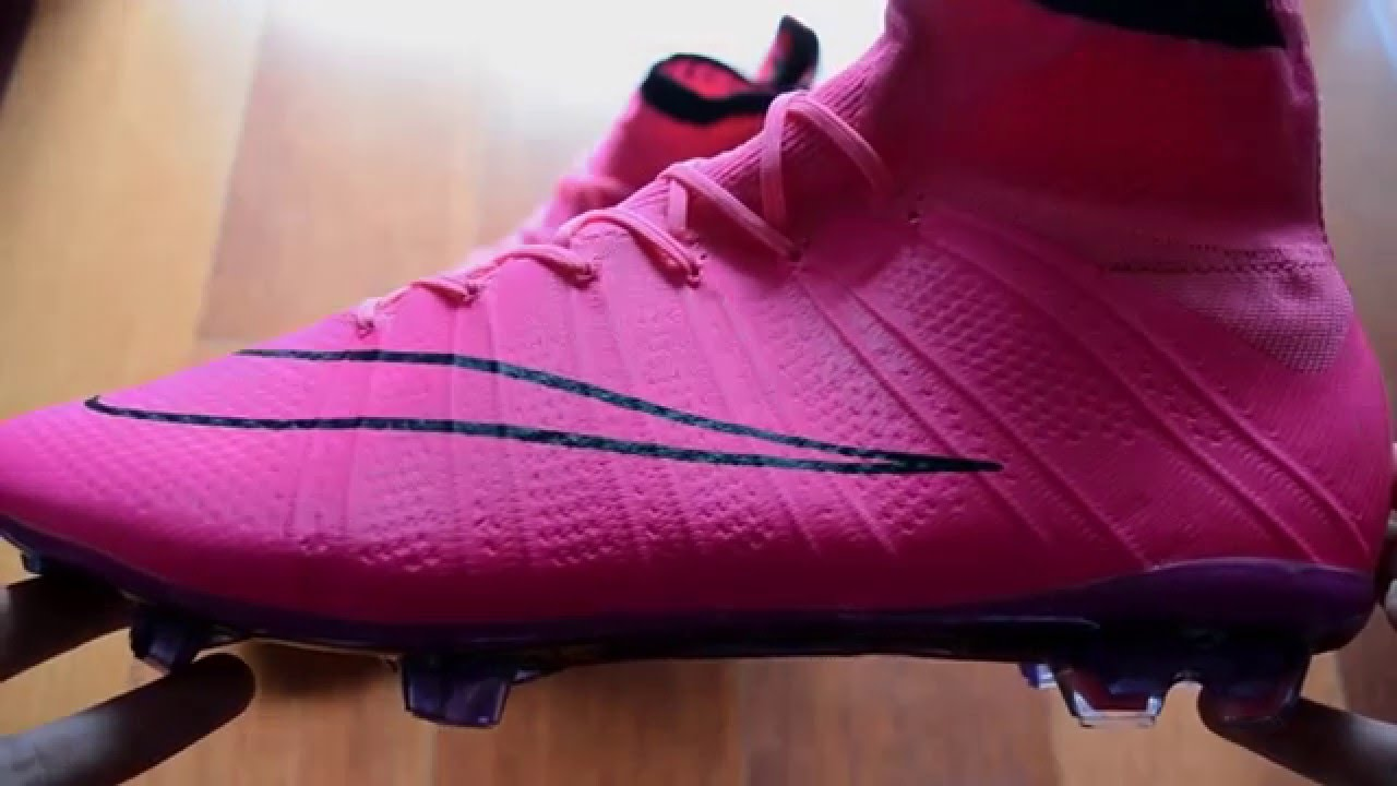 b772634db ... denmark unboxing replica nike mercurial superfly iv 4 fg lightning  storm pack pink ronaldo boots youtube