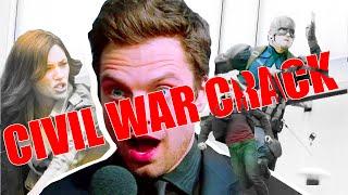 Captain America Crack #1 [Civil War]
