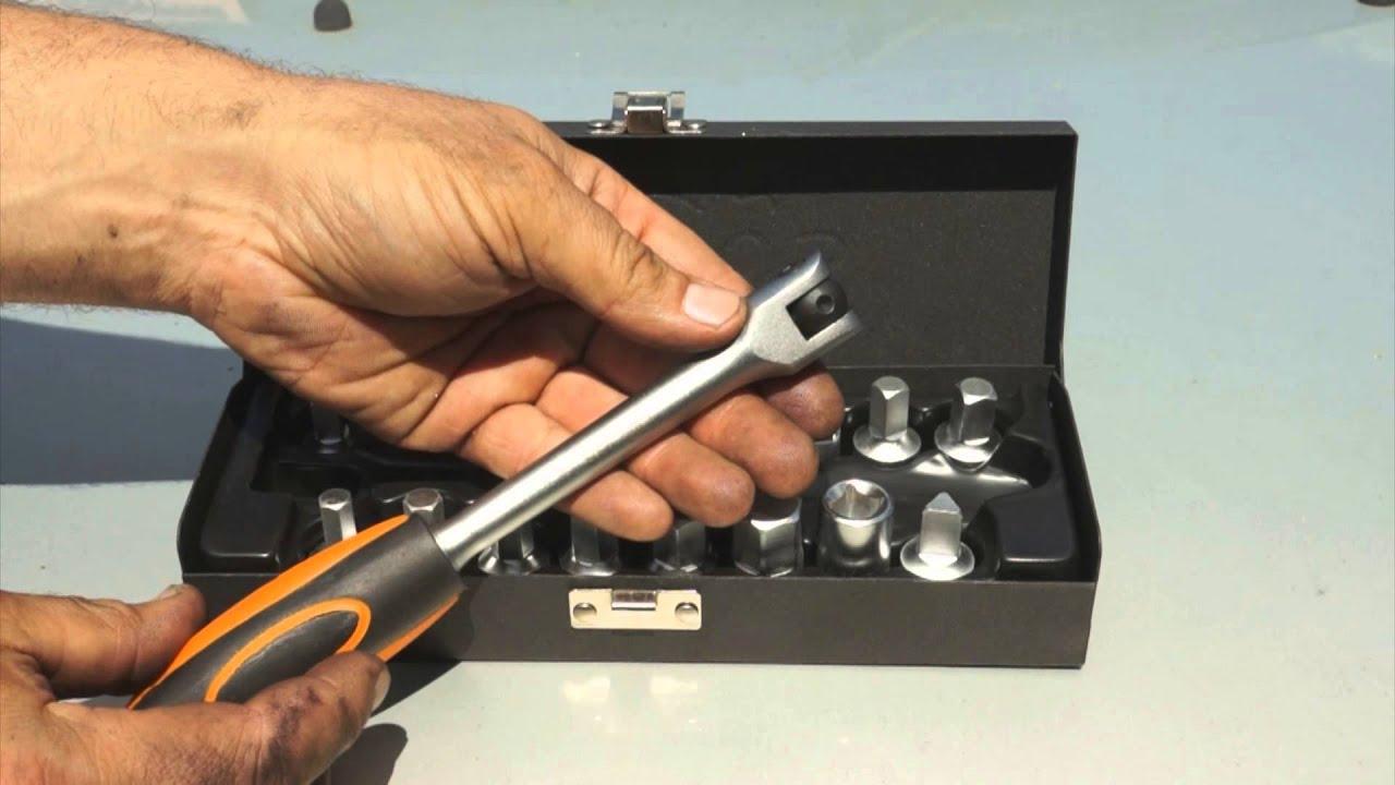 Download Lincos® DK-382018 Sada kľúčov na vypúšťaciu skrutku olejovej vane