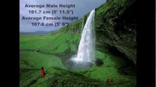 TOP 10 COUNTRIES WITH THE TALLEST PEOPLE