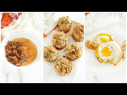 Fall Recipes For Breakfast! | healthy paleo recipes