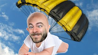 base jumping baby who s your daddy