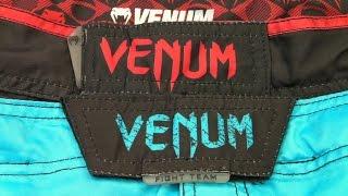 Обзор спортивной MMA-одежды и рюкзака Venum
