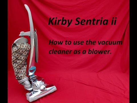 Kirby Sentria Ii Blower Attachment For Painting Air Mattress Or Dusting