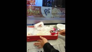 Throwing out your trash in Korea (fast food)