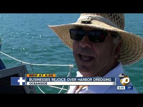 Oceanside Harbor receives overdue dredging
