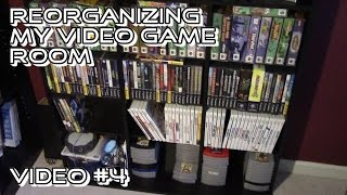 The Best Video Game Storage Shelves: Oskar Media Cabinet 1080 CD (aka Video Game Room Update 4)