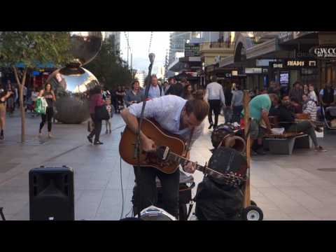 The amazing CUZN live at Rundle Mall