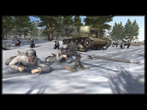 THE WINTER WAR - Forgotten Fronts of the Axis Powers Mod - Men of War: Assault Squad 2