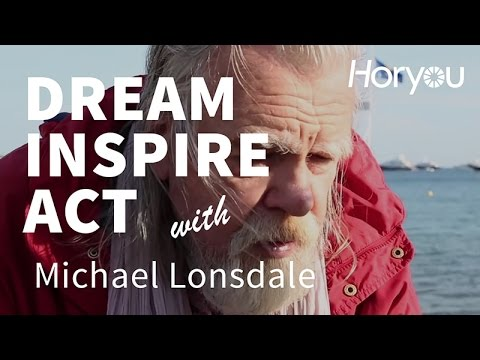 Michael Lonsdale @ Cannes 2014 - Dream Inspire Act by Horyou