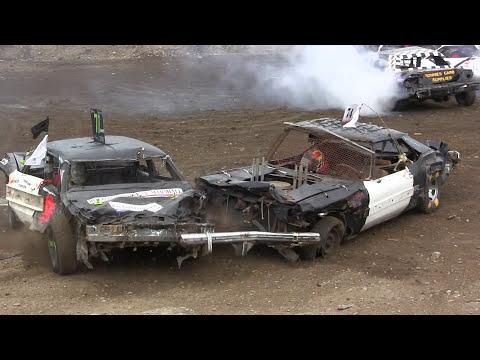 2017 Gander Demolition Derby - Big Car Final