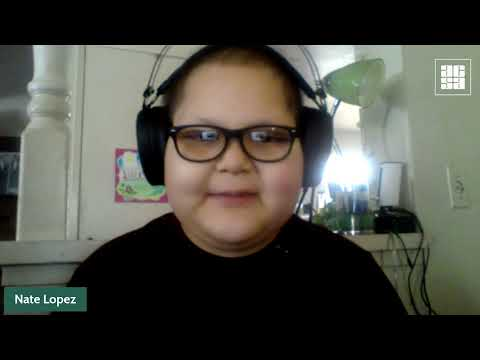 Fifth-grader faces cancer treatment with courage