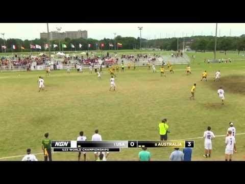 2013 U23 World Championships - USA vs Australia - Semifinal (M)