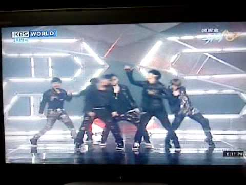 B2ST- Shock  [ Music Bank 05/03/10] ( With Easy Romanizations)