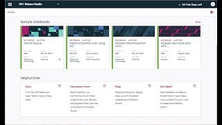 Build and Train Machine Learning Models using IBM Watson Studio Local thumbnail