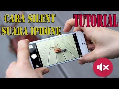 Cara silent suara kamera iphone bahasa indonesia.