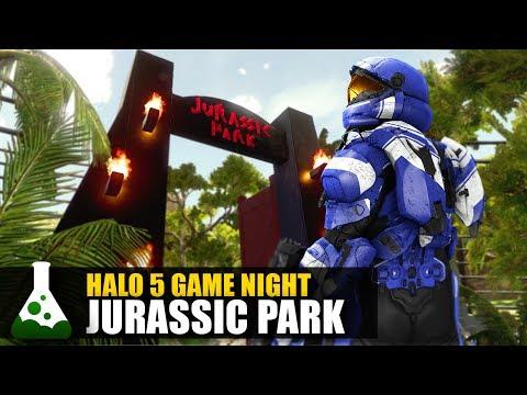 Halo 5 Game Night - Jurassic Park