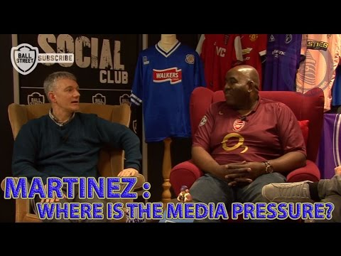 """Why Aren't The Media Putting More Pressure On Roberto Martinez"" 