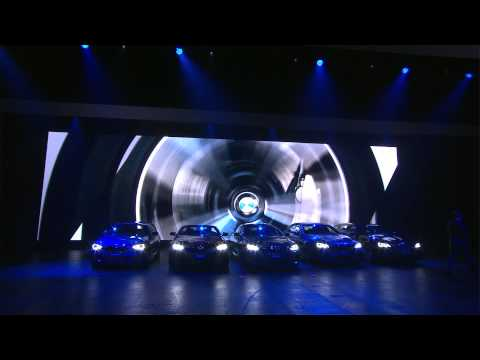 BMW Press Conference at the 2013 Frankfurt Auto Show