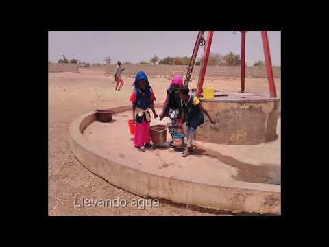 Projecte per construir un diposit de Reserva d'aigua  per  l'escola primaria de Louly Sindiane.