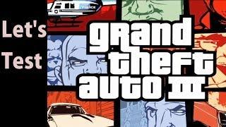 Let's Test GTA 3 [HD / Lefirn / German] - Autofahren für Anfänger  - Grand Theft Auto