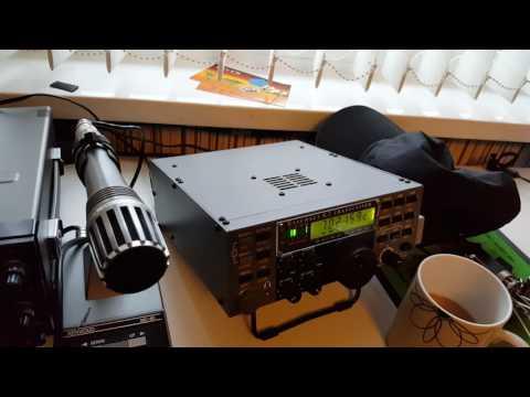 12 WPM Slow Morse QSO GW4OKT working IV3GSO