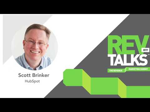 The New Rules of Marketing Operations & Technology | Scott Brinker at REVTalks 2019