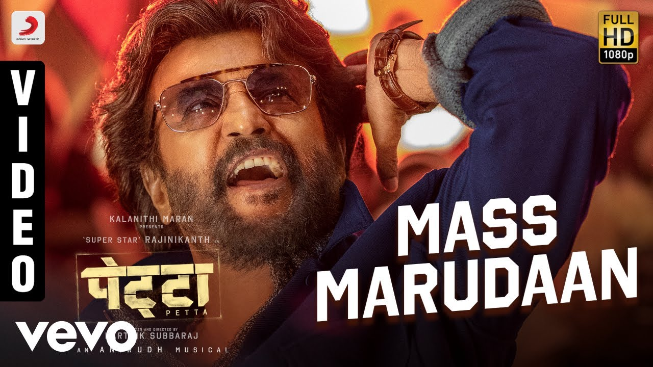 Mass Marudaan  - Petta (Hindi) - Rajnikanth |  Anirudh Ravichander | Mano