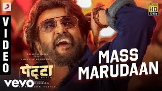 Mass Marudaan Full Video - Petta (Hindi)|Rajnikanth, Simran|Anirudh Ravichander|Mano
