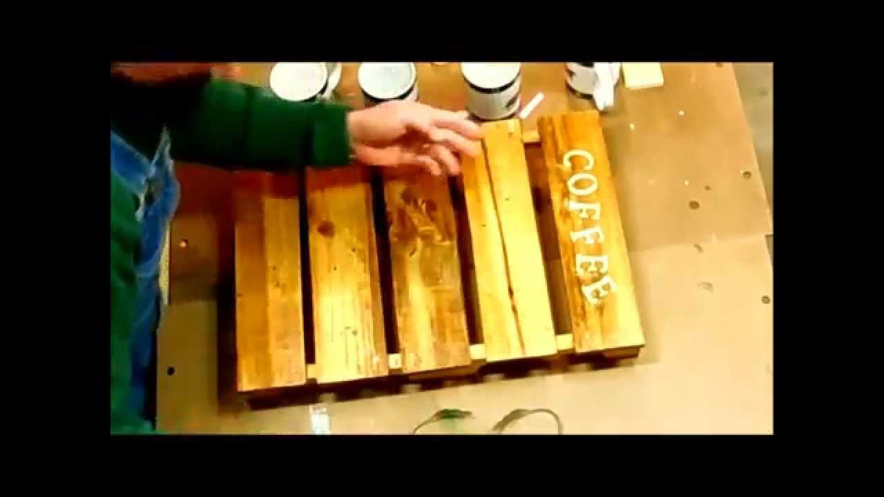 Coffee Cup Holder Woodworking