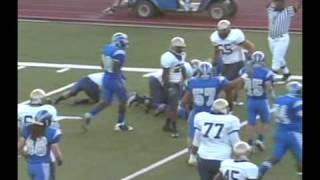 #26 James Marshall, DB 2009-10 San Bernardino Valley College SBVC Football