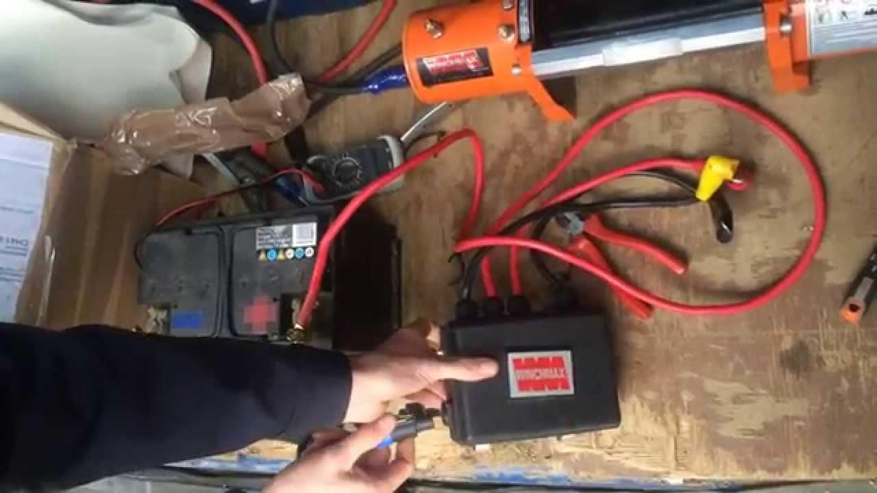 Badland Winch Wireless Remote Box Diagram Winches