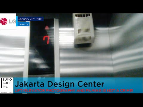 LG Freight Lift at Jakarta Design Center (Retake 1)