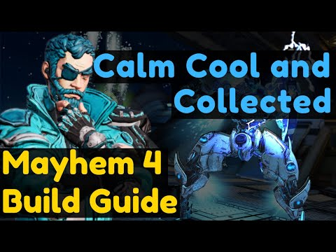 Calm Cool and Collected - Mayhem 4 Cryo Zane Build Guide Borderlands 3