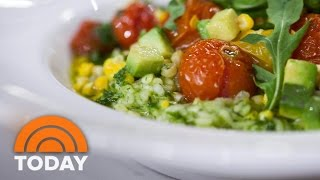 Roasted Tomato And Corn Risotto: Make It With Fresh Ingredients