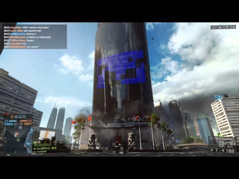 Разрушение здания в игре BF4